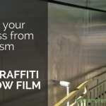 anti graffiti window film austin