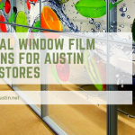 seasonal window film austin